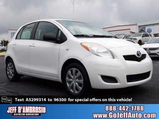 2010 toyota yaris blue book value