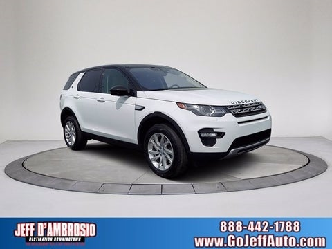 Used Land Rover Discovery Sport Downingtown Pa